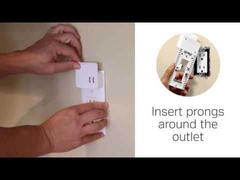 2-Port USB Charging Decor Wall Plate - Product Spotlight Video