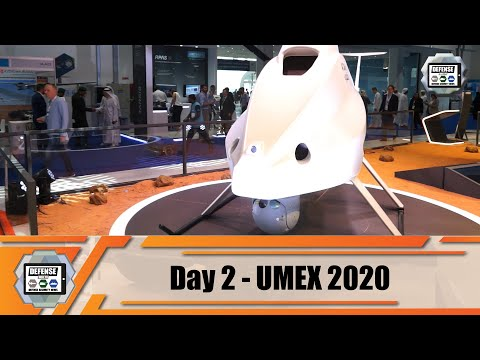 UMEX 2020 International Unmanned Defense Systems  and Training Exhibition Abu Dhabi UAE Day 2