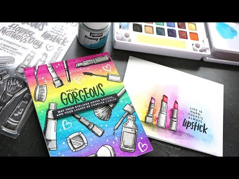 Easy Background Watercoloring with Liquid Masking Fluid