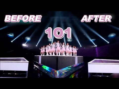 BEFORE/ AFTER  [1O1- Produce 101]