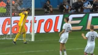 ملخص مباراة المانيا والارجنتين 1-0 نهائي كاس العالم  بتعليق رؤوف خليف