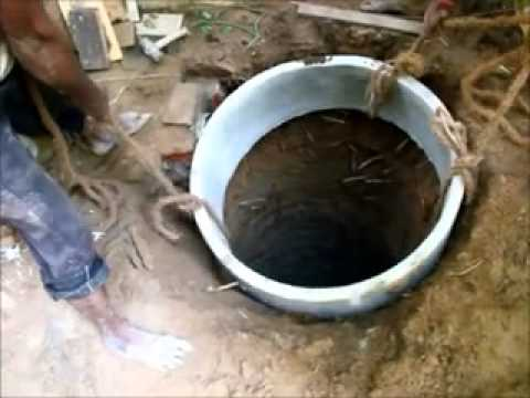 Simple steps to achieve water sufficiency - Constructing a recharge well