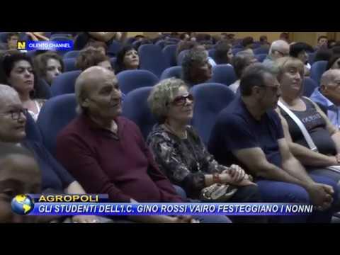 """AGROPOLI, GLI STUDENTI DELL'I.C. """"GINO ROSSI VAIRO"""" FESTEGGIANO I NONNI."""