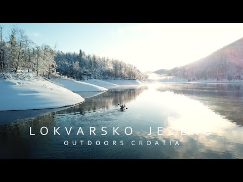 Jezero Lokve zimi - Outdoors Croatia