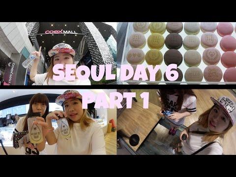 Korea Seoul Trip Day 6 part 1 COEX & SMTOWN