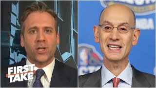 Should the NBA go straight into the playoffs if the season resumes? First Take debates | First Take
