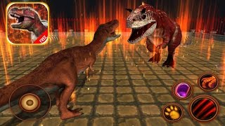 T REX GAMES FOR KIDS: Tyrannosaurus Simulator #1 |Newbie Gaming - YouTube
