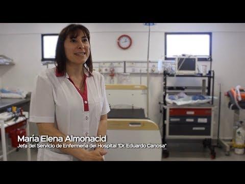 Recorriendo nuestros Hospitales #PuertoSantaCruz #LaSaludNosUne