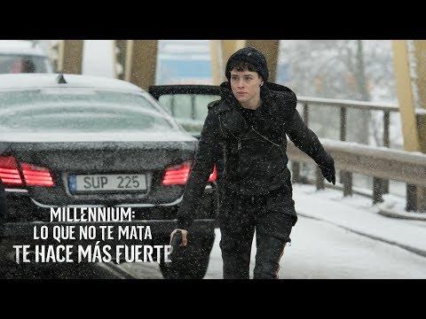 MILLENNIUM: LO QUE NO TE MATA TE HACE MÁS FUERTE. Hacer justicia. En cines 9 de noviembre.