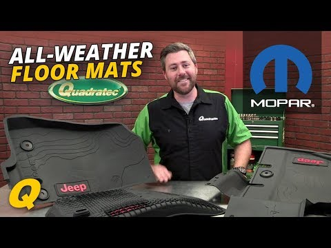 2018 Jeep Wrangler JL Mopar All Weather Floor Mats Review