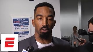 JR Smith says he knew Game 1 was tied at end of regulation   ESPN