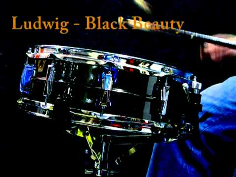 """Ludwig Black Beauty 14x5"""" snare"""