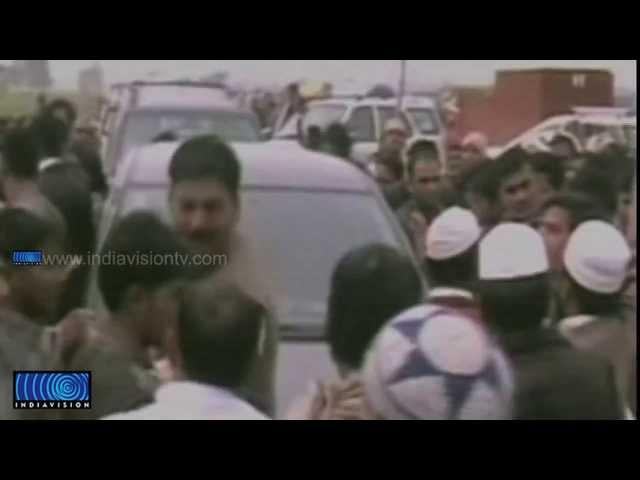 Black Flag against Rahul Gandhi at Muzaffarnagar