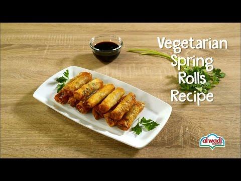Vegetarian Spring Rolls Recipe