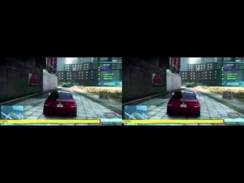 Need for Speed Most Wanted 2 in 3D - Multiplayer