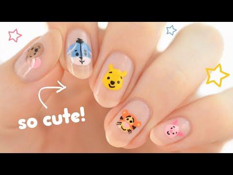 Disney's Winnie The Pooh Nail Art! SO CUTE! ♡