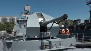 "New warship ""Admiral Essen"" joins Russian Black Sea fleet"
