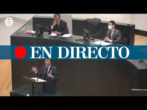 Sesión ordinaria del pleno del Ayuntamiento de Madrid, en directo