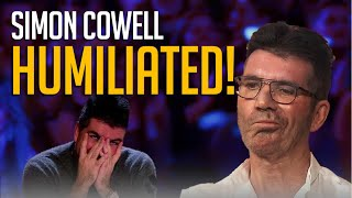 10 Contestants HUMILIATE Simon Cowell On Got Talent Stage!