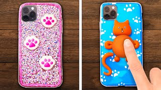 COLORFUL DIY PHONE CASE COMPILATION || Cute And Cheap DIYs To Brighten Your Phone