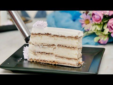 Gala torta - bogata torta sa kakao keksom bez pečenja