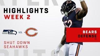 Khalil Mack & Bears Shut Down Seahawks!