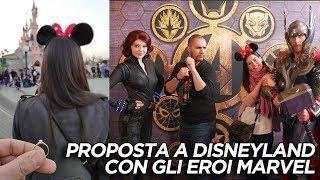 Proposta di matrimonio a Disneyland con gli Avengers