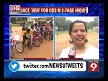 Bengaluru hosts tricycle race for kids - NEWS9