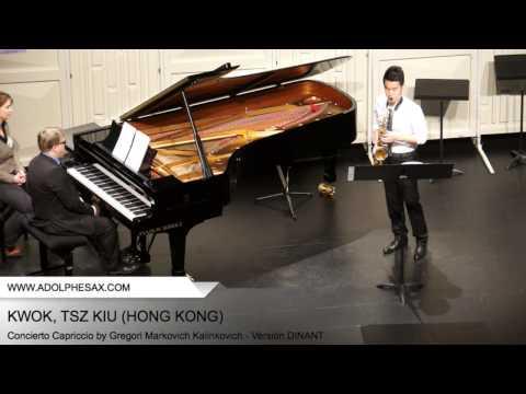 Dinant 2014 - Kwok, Tsz Kiu - Concerto Capriccio by Gregori Markovich Kalinkovich