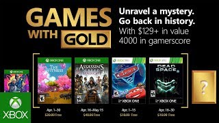 Witness assassins in April's free Xbox Games with Gold