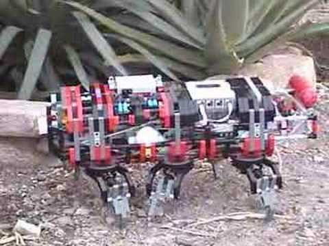 Lego Mindstorms NXT Pneumatic- X6 Hexapod