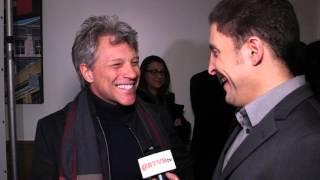 "Jon Bon Jovi at ""The Wannabe"" Premiere with Arthur Kade"