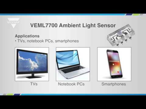 Optoelectronics: VEML7700 Amient Light Sensor