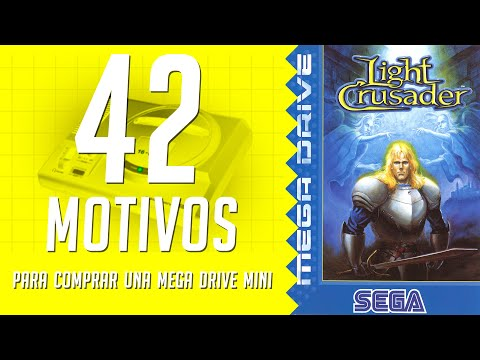 Light Crusader. 42 motivos para comprar una Mega Drive Mini. (37/42)