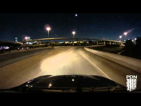 Sony Action Cam night test