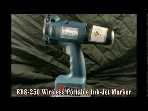 MB-EBS250 Wireless Portable Ink-Jet Marker