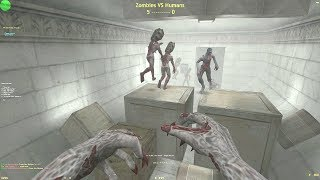 Counter-Strike: Zombie Escape Mod - ze_4escape_Bunker_v2 on UGC