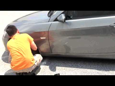 Bimmerzone.com : BMW E90+ Space Saver Spare Tire Installation and Test Run