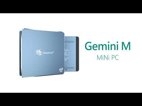 video Beelink Gemini M Intel NUC Mini PC