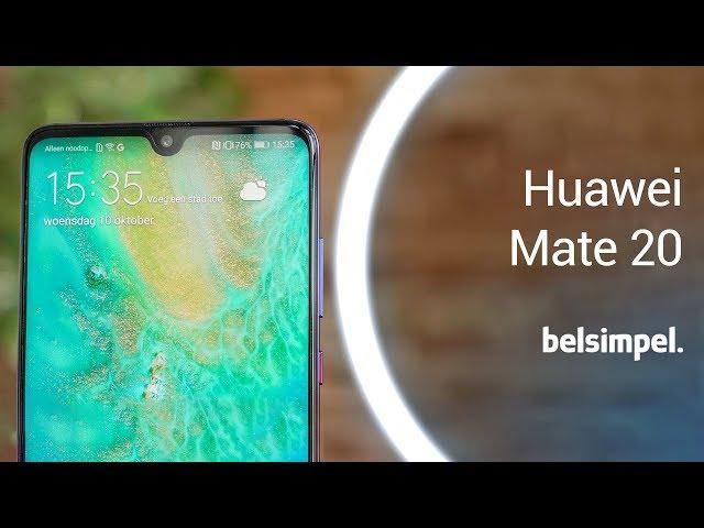 Belsimpel-productvideo voor de Huawei Mate 20 Blue