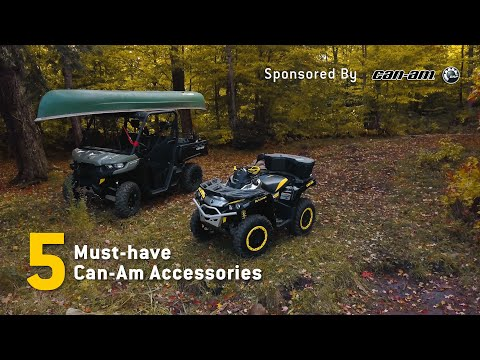 5 Must-Have Can-Am Accessories - Sponsored