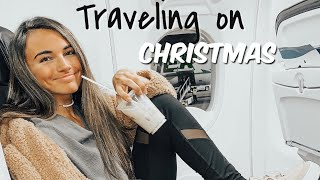Airport at 4 am on CHRISTMAS!! | travel vlog