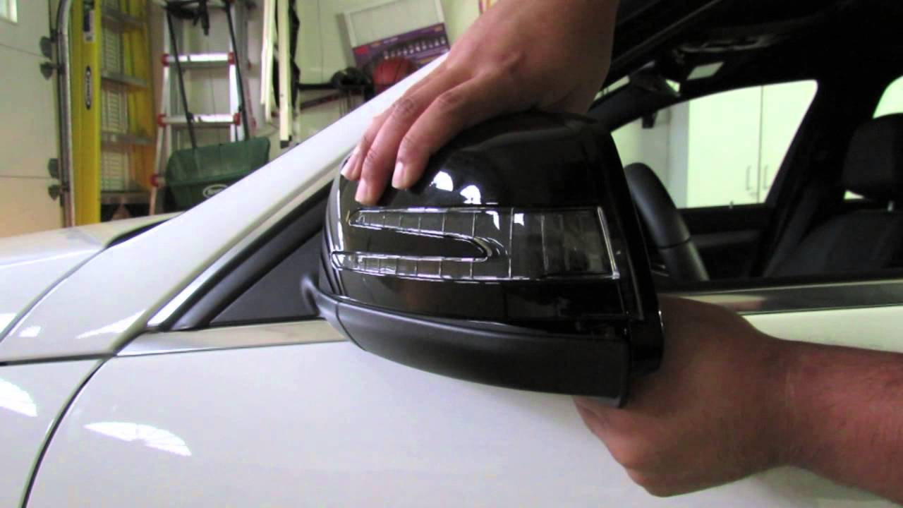 Mercedes Benz Mirror Cover Removal Youtube