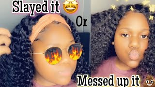 Did I slay it or messed it up it 😱|ygwigs