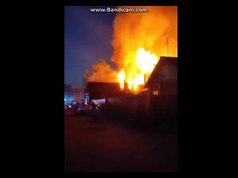 Пожар в Лесозаводе, 23 мая