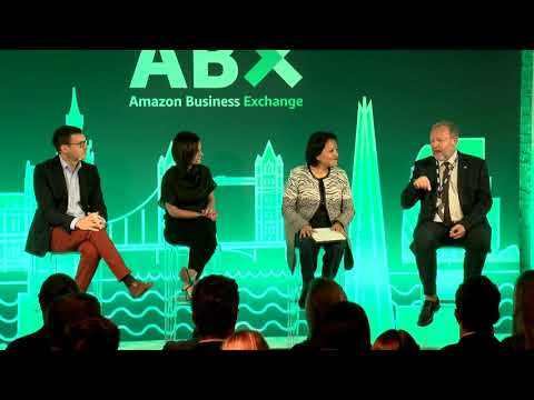 amazon.co.uk & Amazon Voucher Codes video: ABX - Session 2 - Managing organizational change while driving innovation: a conversation