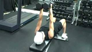 Triceps supino c/ dumbbell