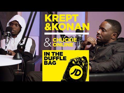 "jdsports.co.uk & JD Sports Discount Code video: ""South London's a Bit Unfair"" Krept & Konan & Chuckie Online | JD In The Duffle Bag Podcast"