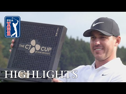 Highlights | Round 4 | THE CJ CUP 2018