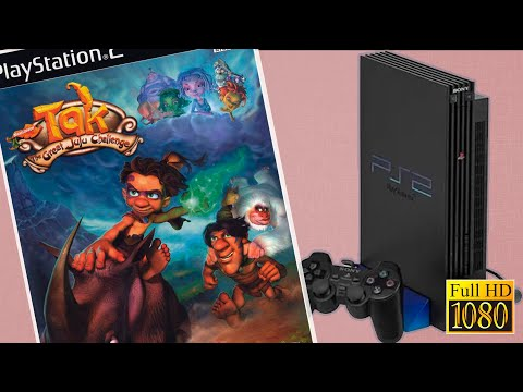 Playstation 2   TAK 3 The Great Juju Challenge   Gameplay 1080p.